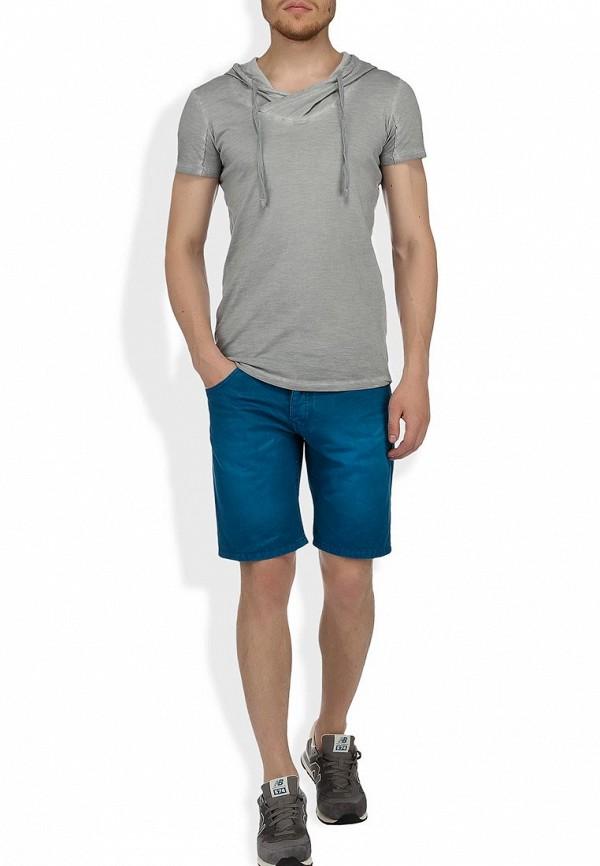 Мужские джинсовые шорты Alcott BE1816UO C271 BLUEOIL: изображение 6