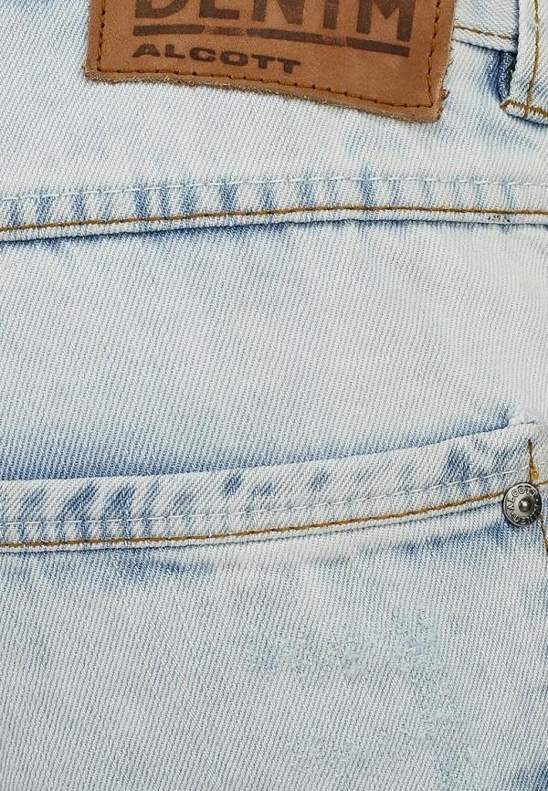 Мужские джинсовые шорты Alcott BE913UOL677 C293 AZZURRE: изображение 4
