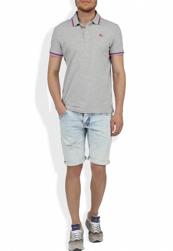 Мужские джинсовые шорты Alcott BE913UOL677 C293 AZZURRE: изображение 6