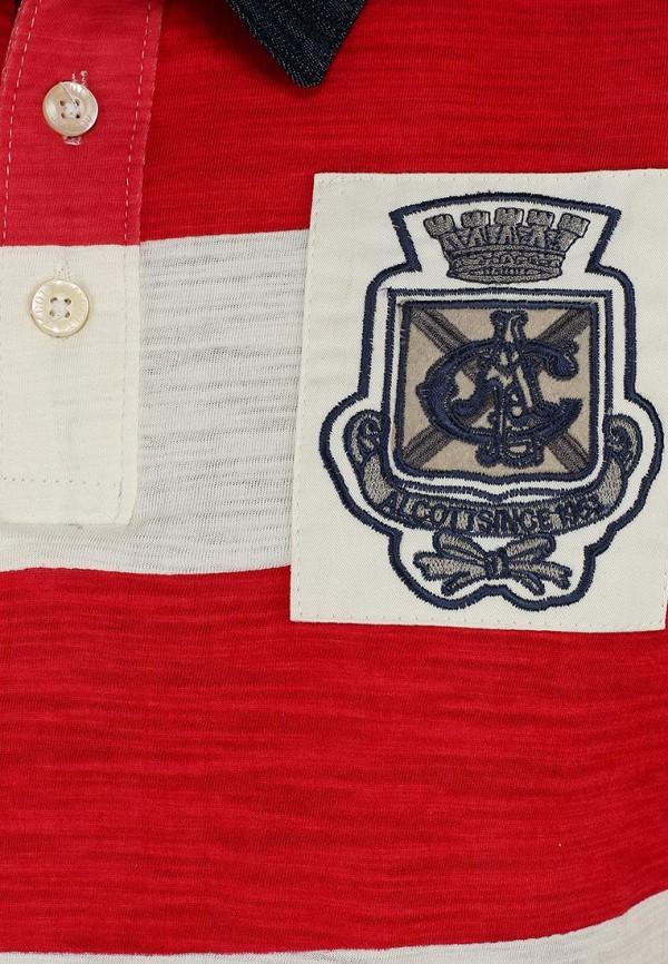Мужские поло Alcott PP7026UO C345 RED: изображение 4
