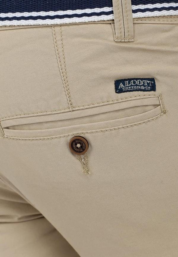 Мужские повседневные брюки Alcott S11838UO C581 BEIGE: изображение 4