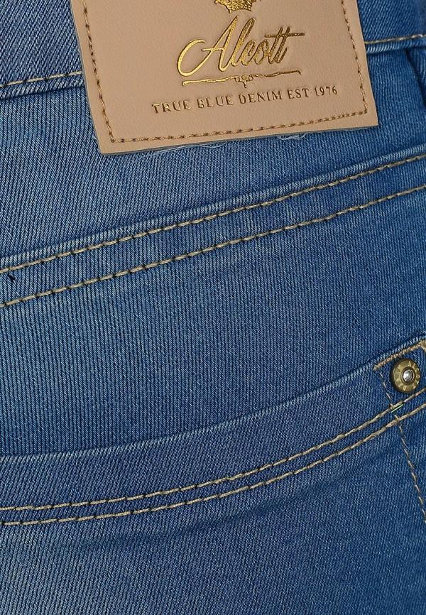 Зауженные джинсы Alcott 5T2160DL999L C284 AZZURRE: изображение 5