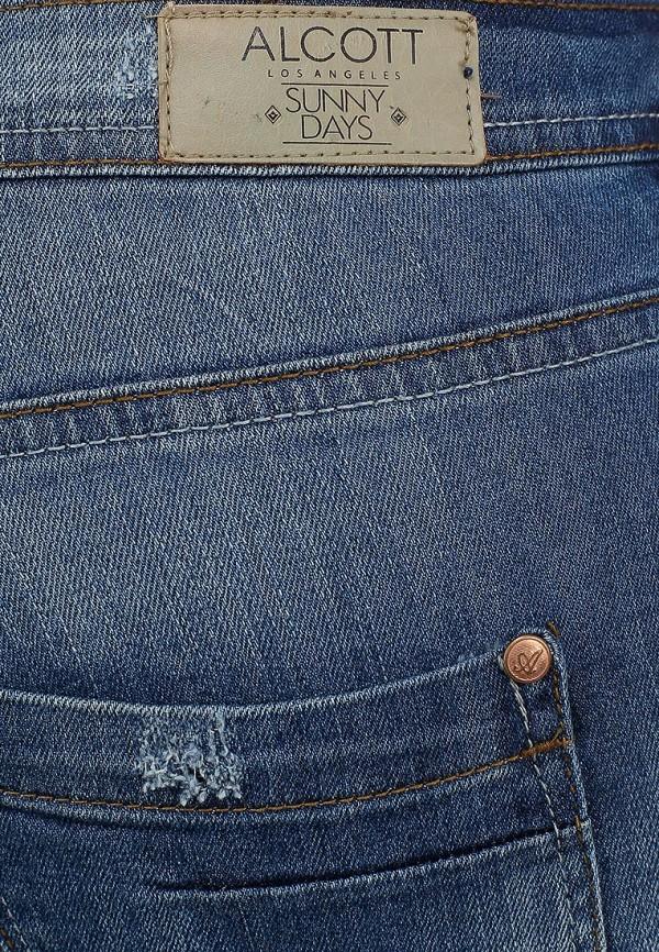 Зауженные джинсы Alcott 5T2132DOM C218 BLUNAVY: изображение 4