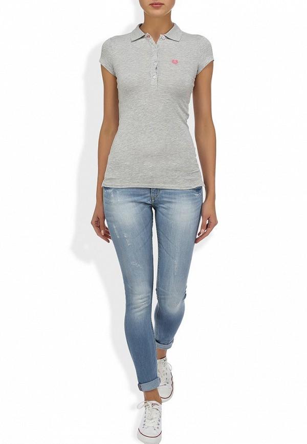 Зауженные джинсы Alcott 5T2132DOL C293 AZZURRE: изображение 6