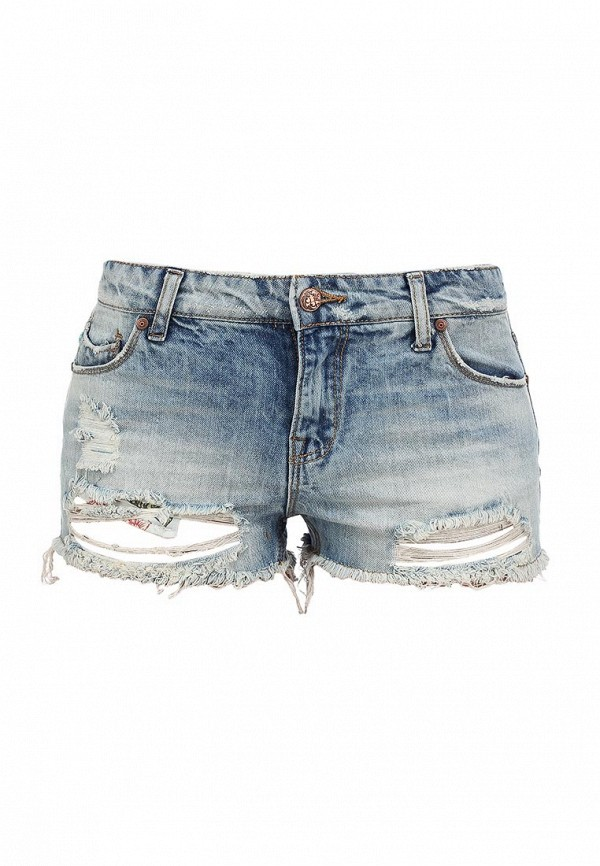 Женские джинсовые шорты Alcott SH2084DOL965 C284 AZZURRE: изображение 2