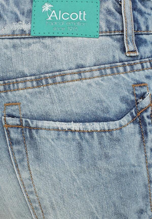 Женские джинсовые шорты Alcott SH2084DOL965 C284 AZZURRE: изображение 4