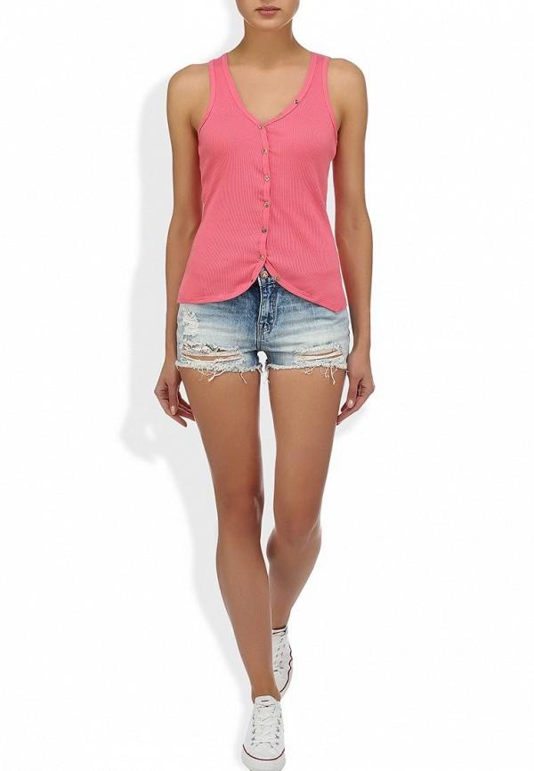 Женские джинсовые шорты Alcott SH2084DOL965 C284 AZZURRE: изображение 6