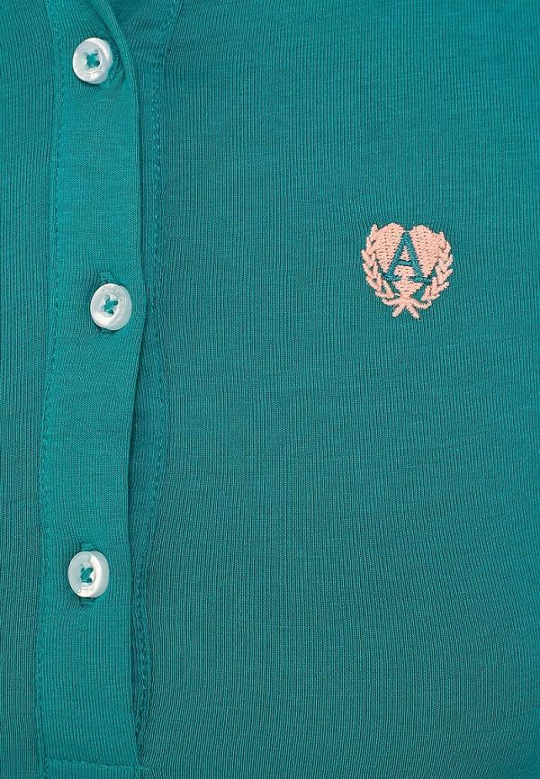 Женские поло Alcott PP5838DO  C643 GREEN: изображение 4