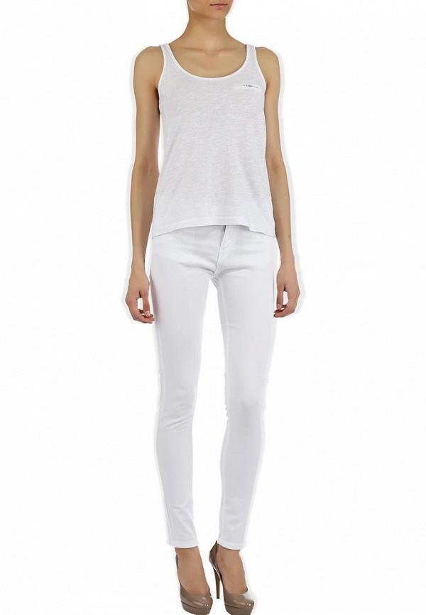 Зауженные джинсы Alcott 5C1536DO C099 WHITE: изображение 8