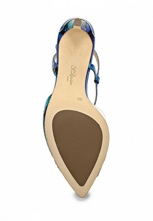 Босоножки на каблуке ALLA PUGACHOVA by Эконика AP1998-02 bue/green-14L: изображение 3