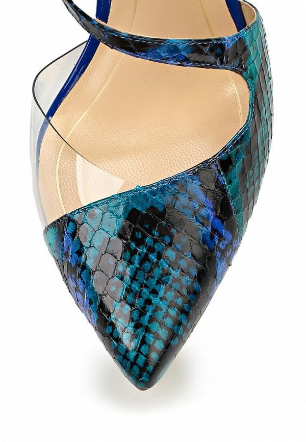Босоножки на каблуке ALLA PUGACHOVA by Эконика AP1998-02 bue/green-14L: изображение 6