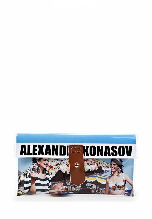 Кожаная сумка ALEXANDER KONASOV 1001091: изображение 1