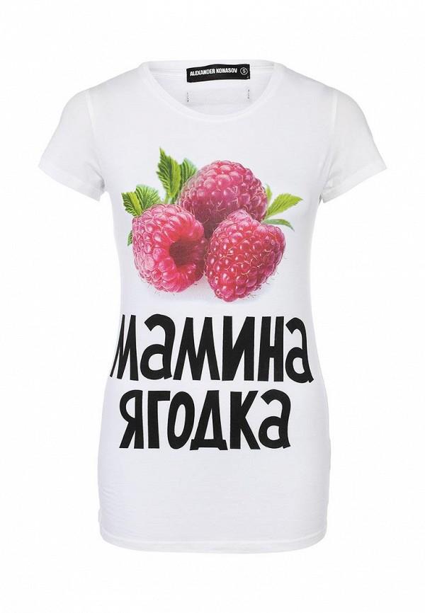 Футболка с надписями ALEXANDER KONASOV 1000282: изображение 2