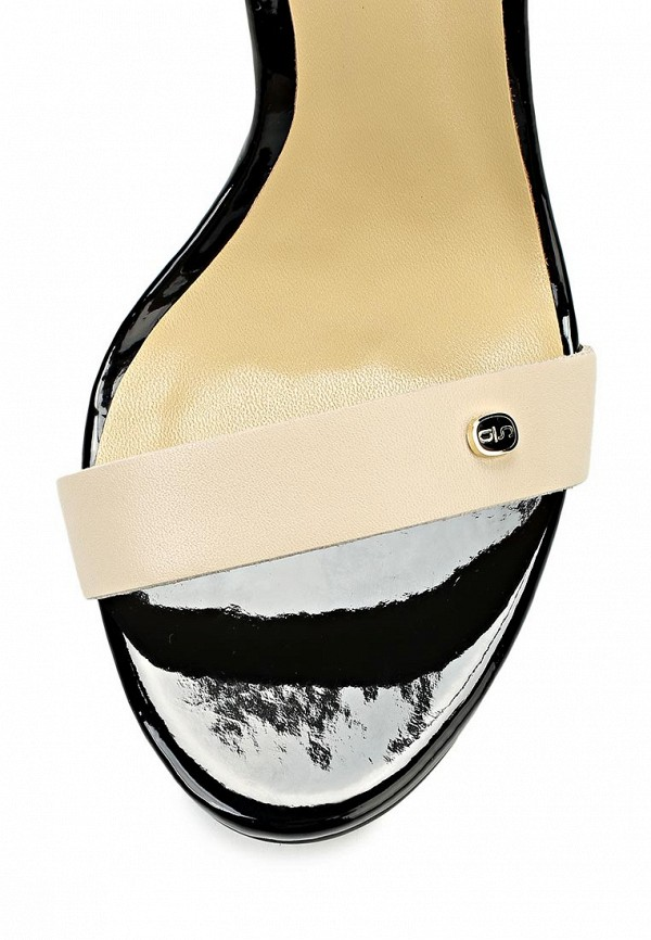 фото Босоножки на каблуке Antonio Biaggi AN003AWBAO55, черно-бежевые