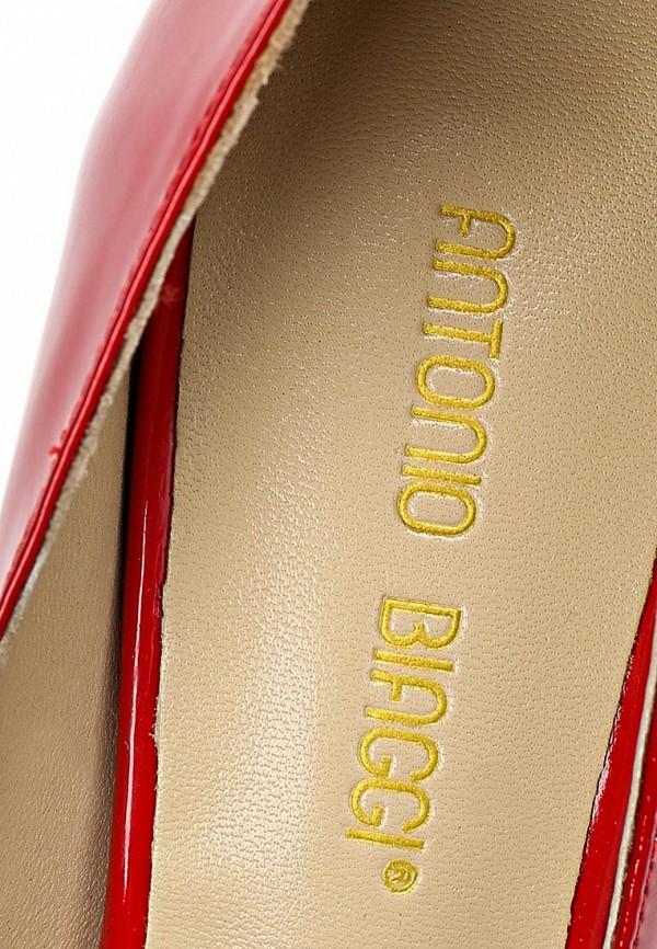 фото Туфли на платформе и шпильке Antonio Biaggi AN003AWCMX74, красные (кожа/лак)