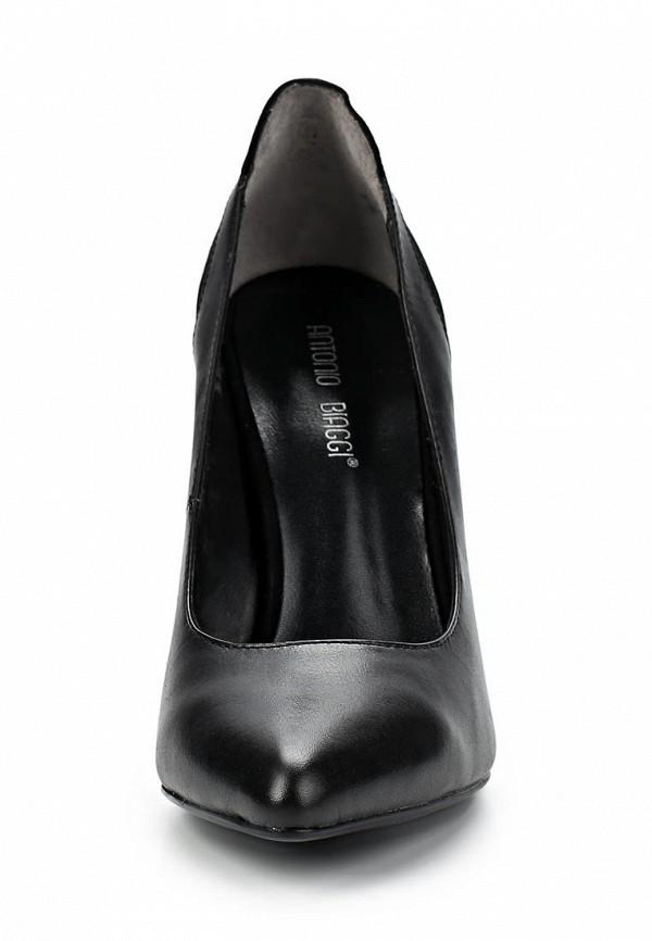 фото Туфли на высоком каблуке Antonio Biaggi AN003AWCMX96, черные (кожа)