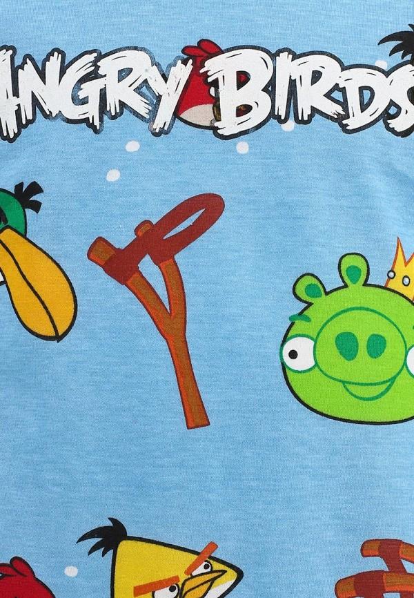 Футболка с коротким рукавом ANGRY BIRDS (Энгри Бёрдс) AB-TSB175-BLU: изображение 4