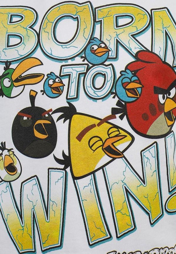 Футболка ANGRY BIRDS (Энгри Бёрдс) TSB77-WHT-AB: изображение 3