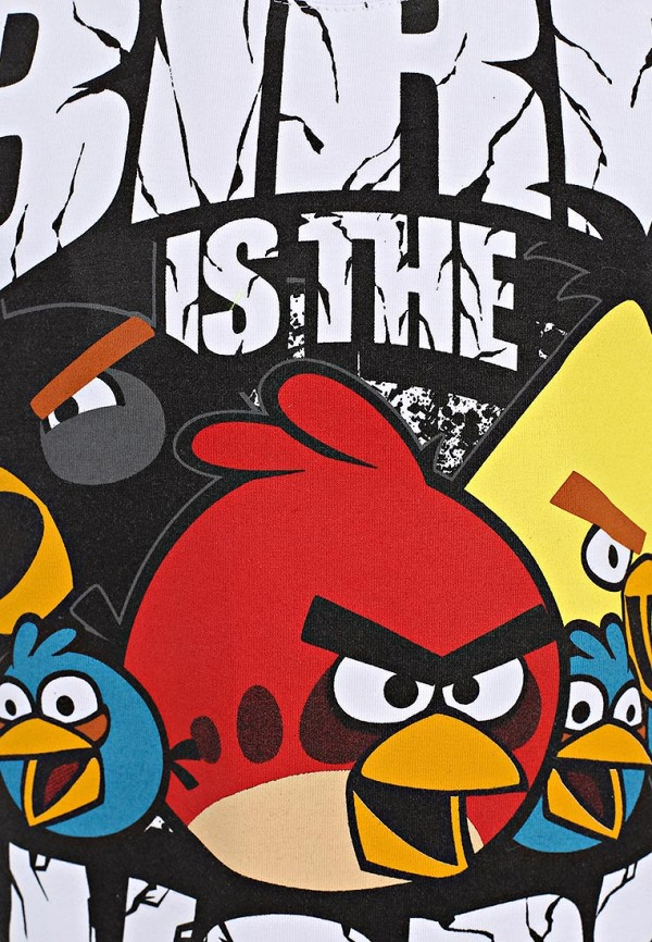 Футболка ANGRY BIRDS (Энгри Бёрдс) AB-TSB212-WHT: изображение 3