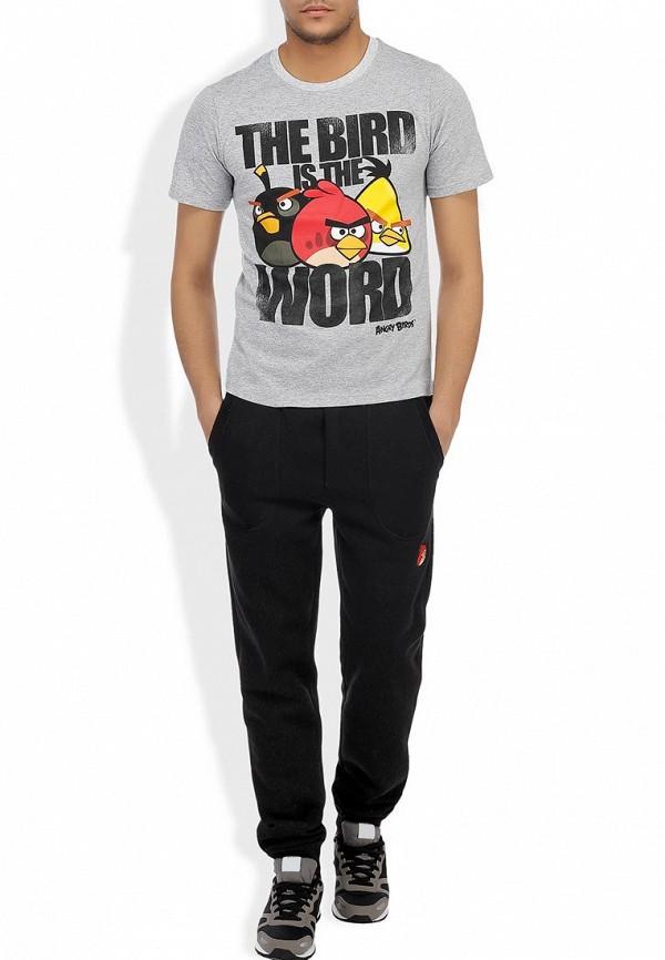 Мужские спортивные брюки ANGRY BIRDS (Энгри Бёрдс) MPP001-BLK: изображение 4