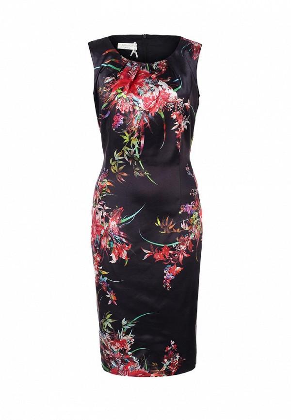 Платье Apanage AP512EWAY847. Цвет: черный