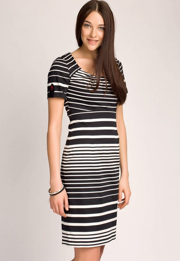 Платье Apanage AP512EWAY848. Цвет: черный