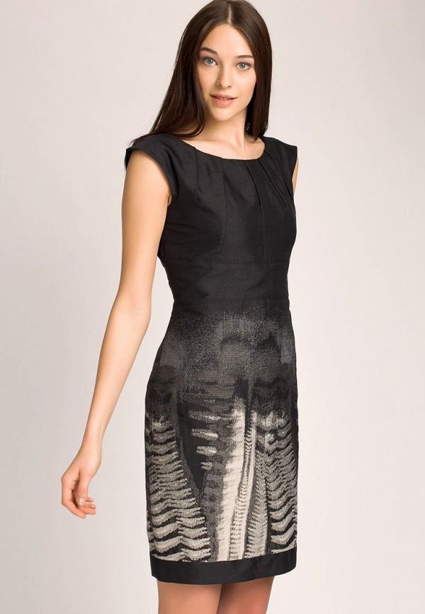 Платье Apanage AP512EWAY854. Цвет: черный