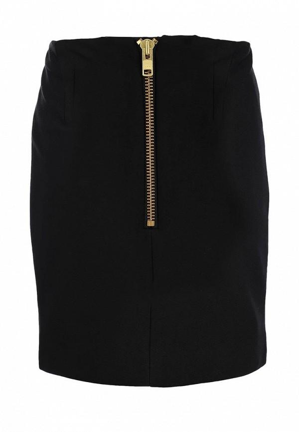 Мини-юбка Aqua by Aqua Allexandra Mini Skirt, Plain: изображение 2
