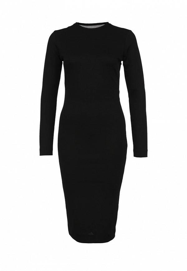 Вечернее / коктейльное платье AQ/AQ Boa Knee Length Dress: изображение 1