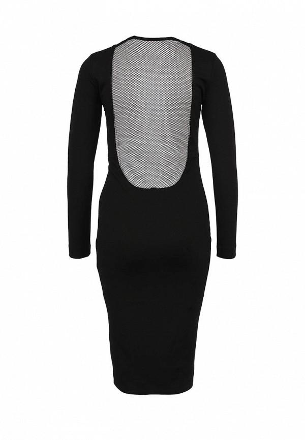 Вечернее / коктейльное платье AQ/AQ Boa Knee Length Dress: изображение 2
