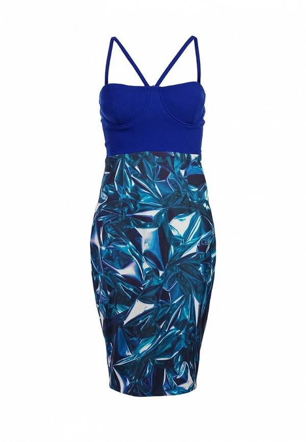 Вечернее / коктейльное платье AQ/AQ Fallon Mini Dress: изображение 1