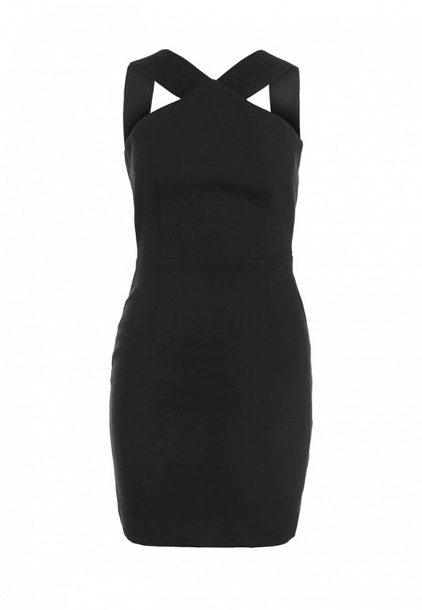 Платье-мини AQ/AQ Van Der Kamp Mini Dress: изображение 1