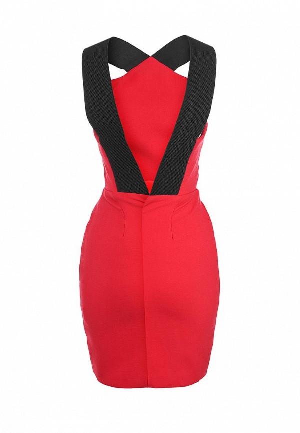 Платье-мини AQ/AQ Van Der Kamp Mini Dress: изображение 2