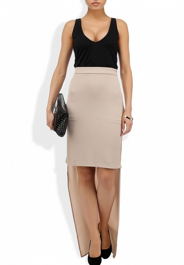 Макси-юбка AQ/AQ Carrington Maxi Skirt: изображение 4