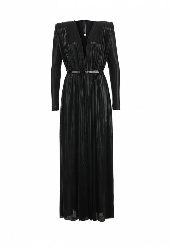 Платье-макси AQ/AQ Bowie Maxi Dress & Belt: изображение 5