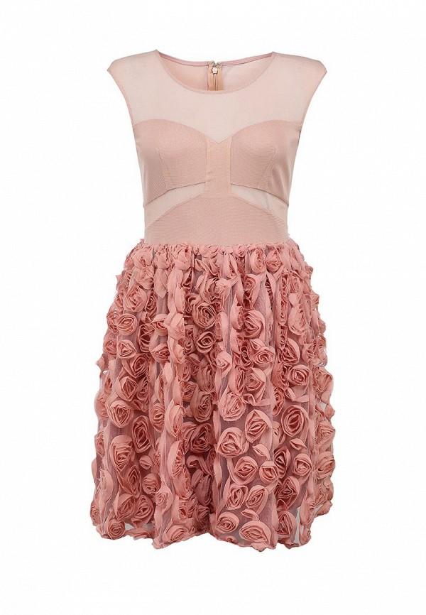 Платье Ark & co. Цвет: розовый