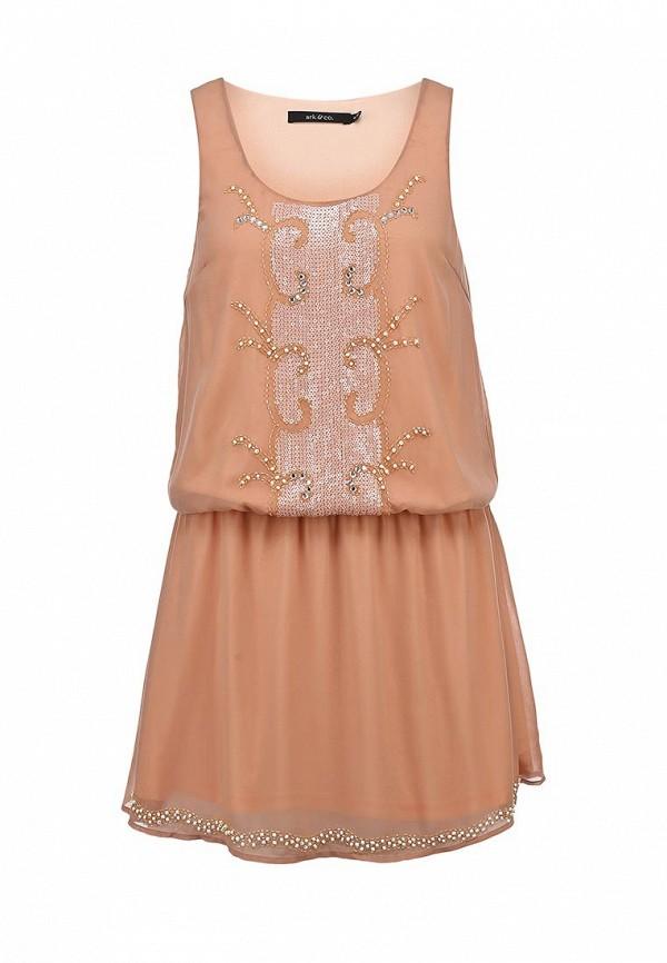 Платье-миди Ark & co DJ16294T: изображение 2