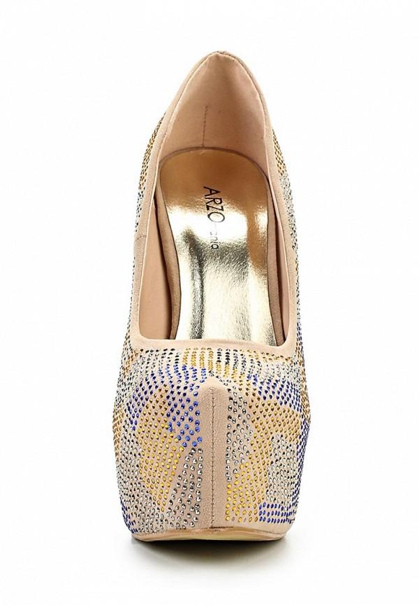 Туфли на шпильке ARZOmania 1869-8 beige: изображение 7