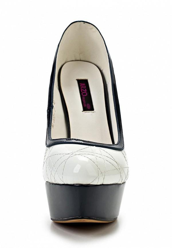 фото Туфли на платформе и шпильке ARZOmania AR204AWBDO79, белые