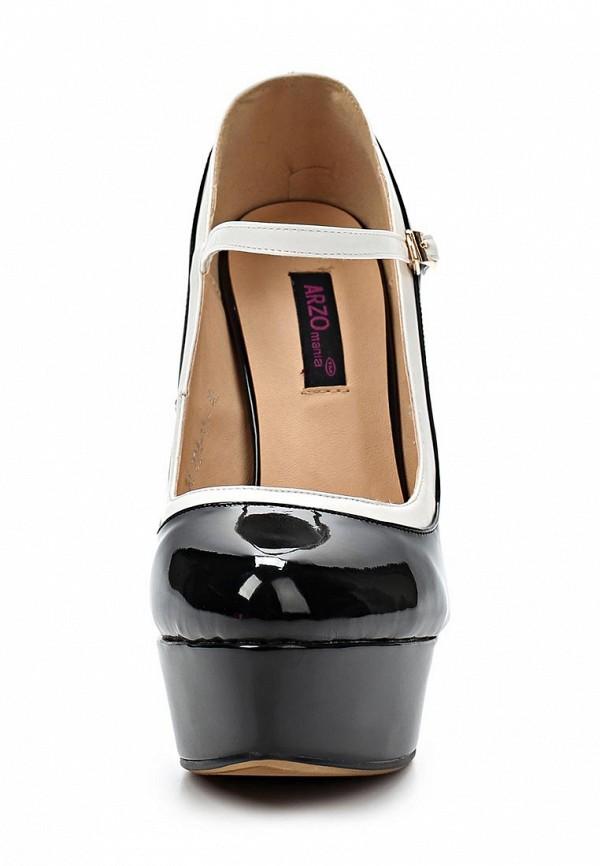 фото Туфли на платформе и каблуке ARZOmania AR204AWBDO82, черные/шпилька