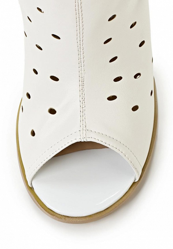 фото Сапоги женские на каблуке ARZOmania AR204AWBDP69, белые/цветные