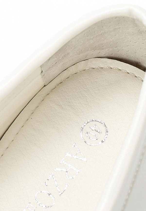 Женские мокасины ARZOmania F 218-1 white: изображение 7