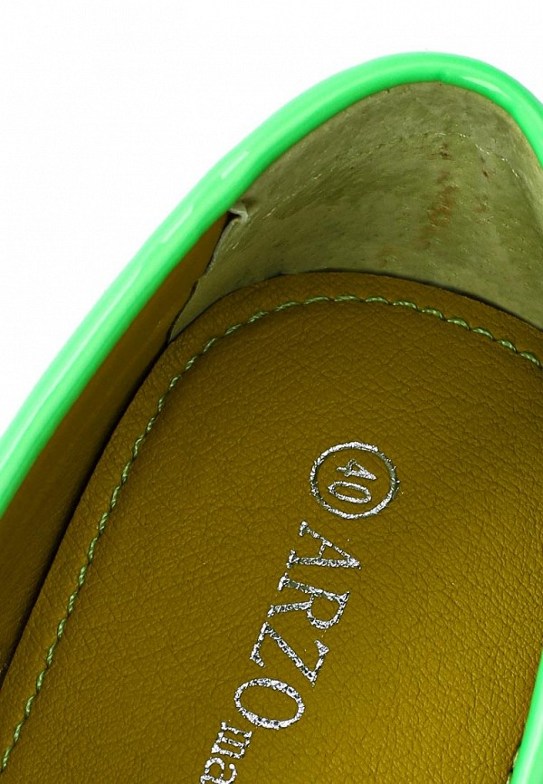 Женские мокасины ARZOmania F 218-2 green: изображение 7