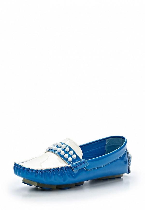 Женские мокасины ARZOmania F 218-3 blue/white: изображение 1