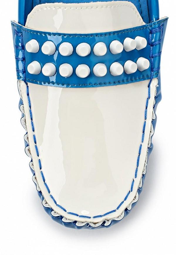 Женские мокасины ARZOmania F 218-3 blue/white: изображение 6