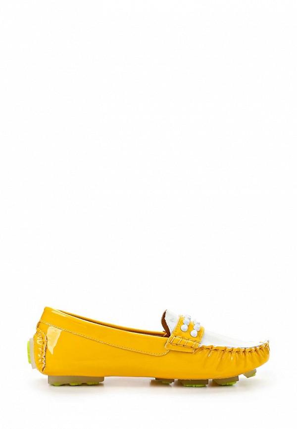 Женские мокасины ARZOmania F 218-3 yellow/white: изображение 5