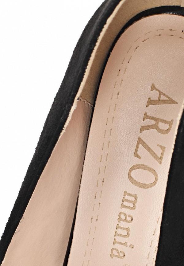 фото Туфли на платформе ARZOmania AR204AWBDQ62, черные/каблук-шпилька