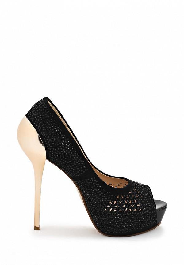фото Туфли на платформе и каблуке-шпильке ARZOmania AR204AWBDR29, черные