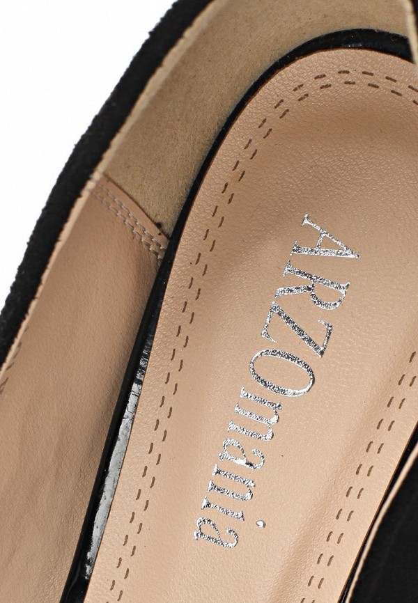 фото Туфли на толстом каблуке ARZOmania AR204AWBDR33, черные