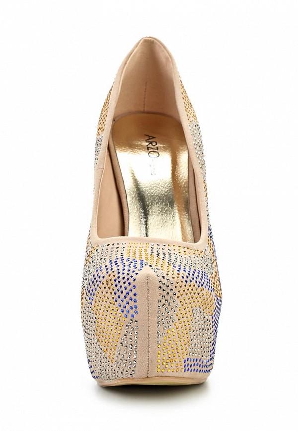 Туфли на шпильке ARZOmania 1869-8 beige: изображение 17